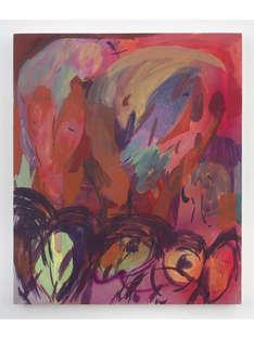 Untitled 2019 48x39cm egg tempera & acrylic ink on panel