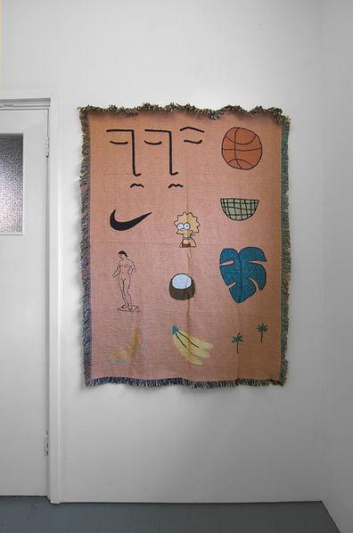 WWA Mini 2018  Woven Cotton Blanket  127cm x 91cm