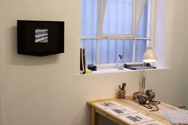 How To Solve Problems In The Office - Installation View