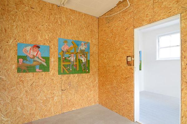 Daniel Sean Kelly - Installation View