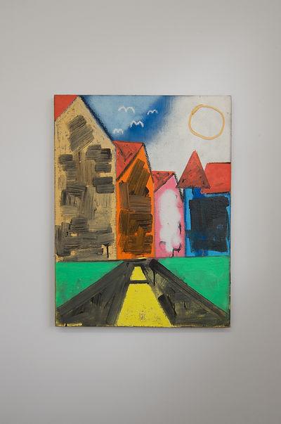 Rae Hicks Residue 2016 90cm x 70cm Oil on canvas