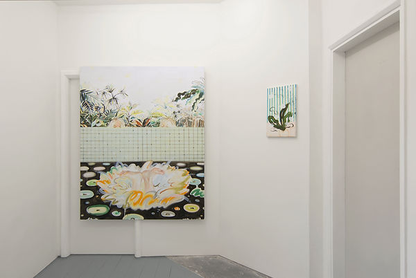 Sooim Jeong - Painting Installation View