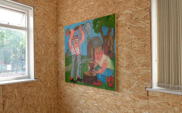 Painter Daniel Sean Kelly