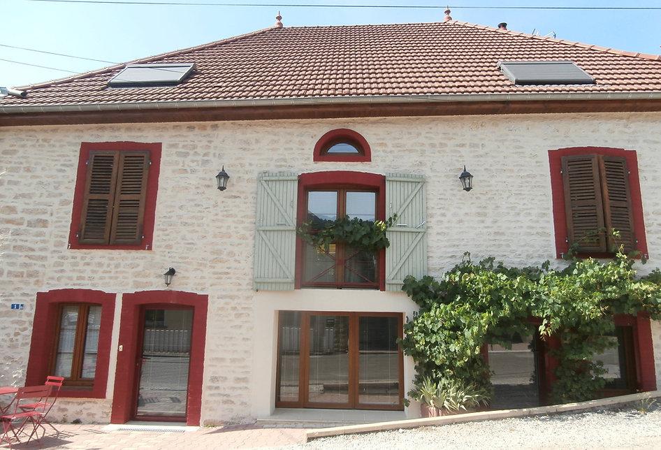 Gîte proche de Besnçon, eublé e ourisme, confort, tourisme, véloroute