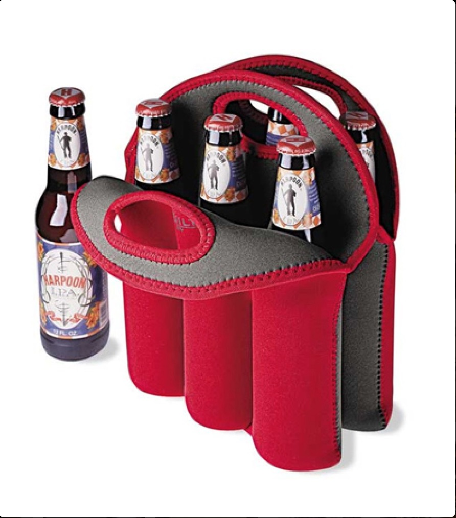 beer bottle tote