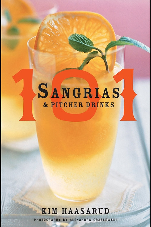 Signed copy, 101 Sangrias & Pitcher Drinks