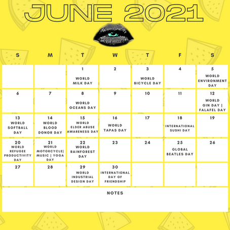 Content Inspiration: June 2021