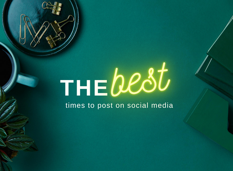 The Best Times To Post On Social Media 2020