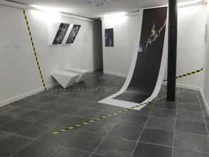 """SCÉNOGRAPHIE pour l"""" Exposition D'Agnès Mellon (photographies)"""