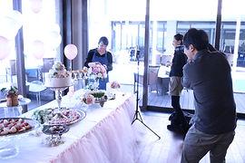 atelier rubanが手掛けるテーブルコーディネート。レストランウェディングや式場、店舗装飾、ウェディング、福岡おしゃれな花屋さん