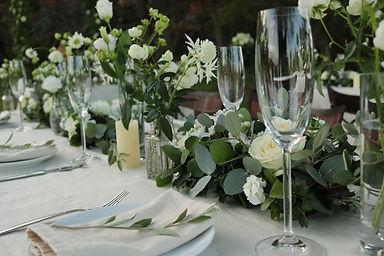 結婚式,会場装飾,パーティー装飾,テーブルフラワー