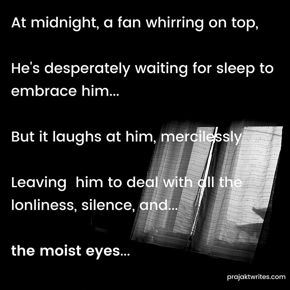 moist eyes poetry