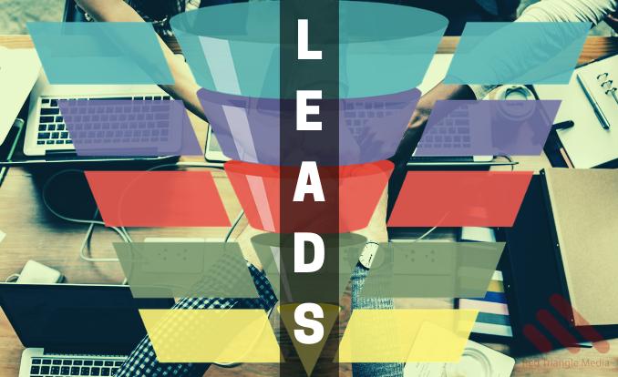 Marketing funnel for lead generation redtrianglemedia