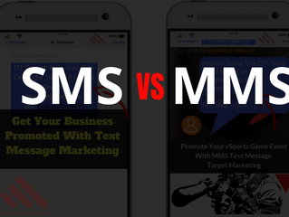 SMS vs MMS - Text Message Marketing