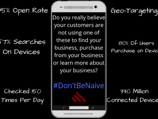 SMS Marketing - #dontbenaive #sms
