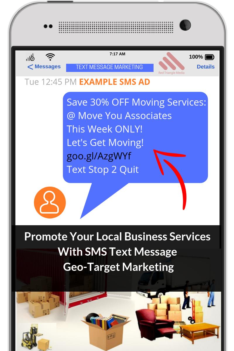 sms marketing ad