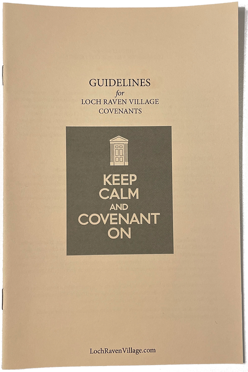 Covenant Guidelines Booklet