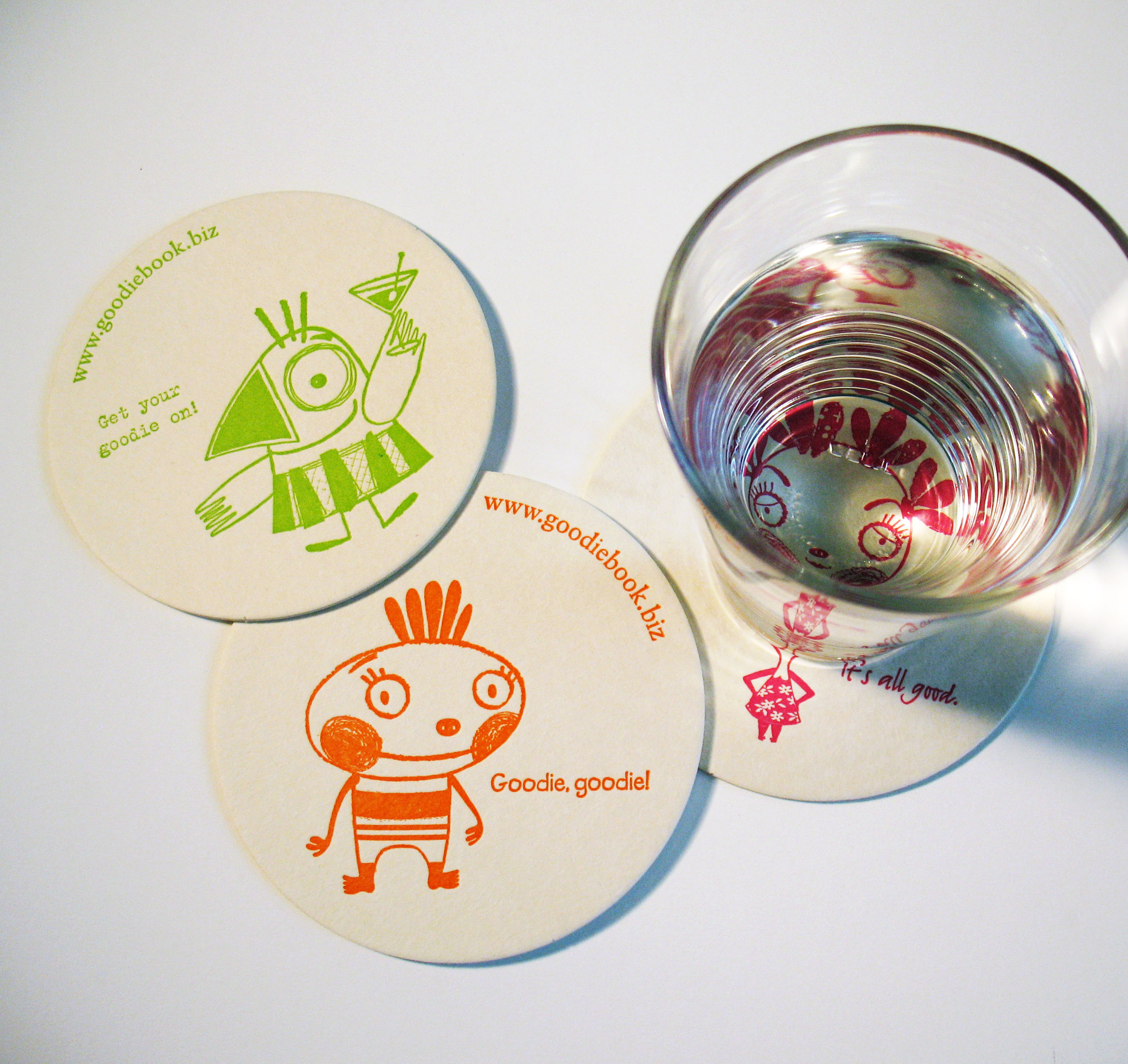 Goodie Books Coasters