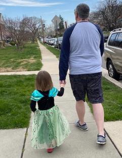 LRV Dad and Princess