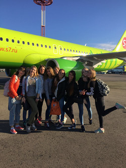 По пути в Москву!