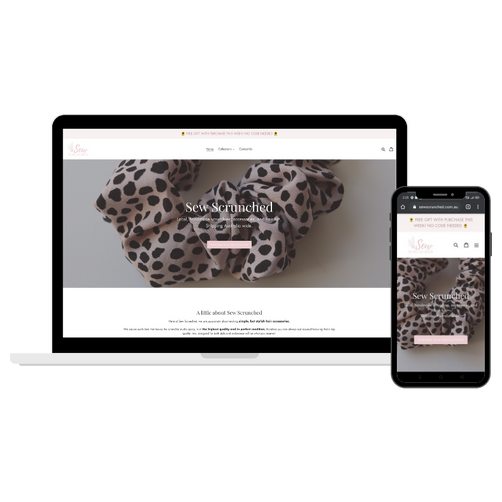 Sew Scrunched Website