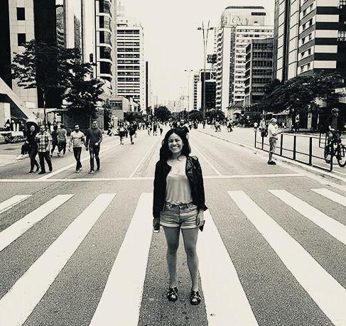 """Acoyani Adame """"Tenemos una infraestructura urbana que no potencia la cultura del caminar""""."""