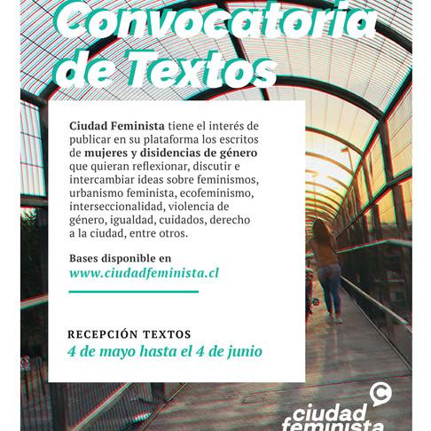 Convocatoria de Textos 2020