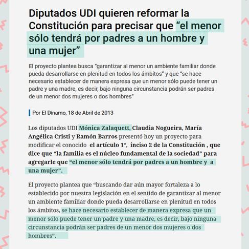 En Chile, las mujeres y disidencias no tenemos ministra.