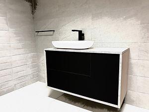 Meuble lavabo sur mesure design