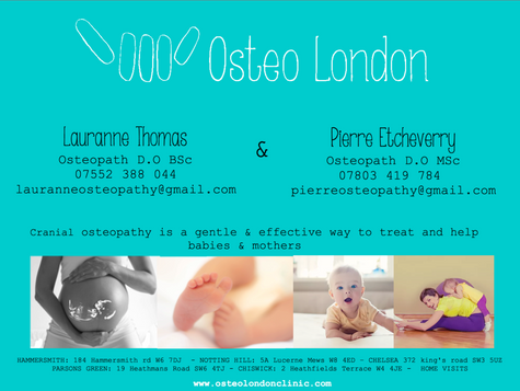 Cranial osteopathy: a gentle & effective way to treat and help babies & mothers