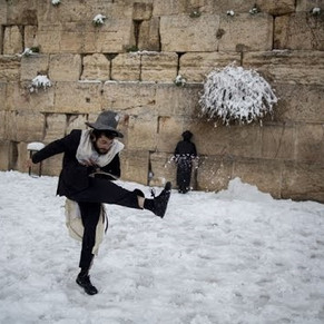 А говорят, в Израиле тепло