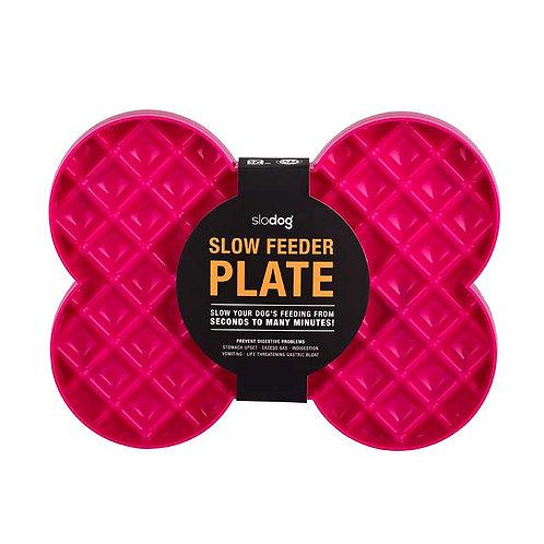 SloDog Slow Feeder Plate - Pink