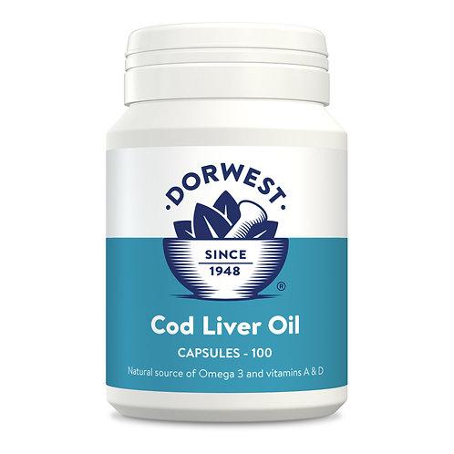 Cod Liver Oil - 100 Capsules