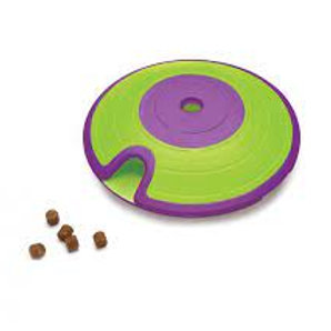 Treat Maze Interactive Puzzle Dog Toy - Green