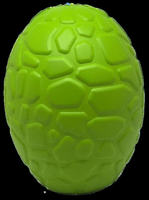 Mutts Kick Butt Dinosaur Egg Treat Dispenser & Chew Toy