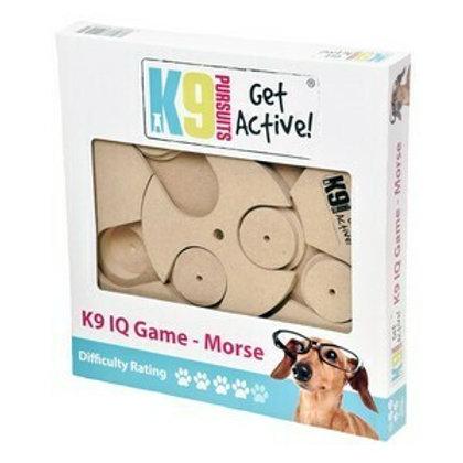 K9 IQ Game Morse