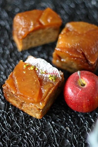 林檎のタタンケーキ