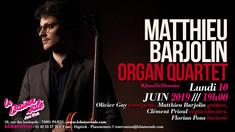Matthieu Barjolin Organ Quartet