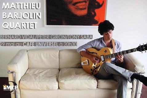 Matthieu Barjolin Quartet