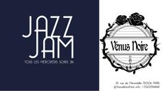 Jam Jazz à la Vénus Noire