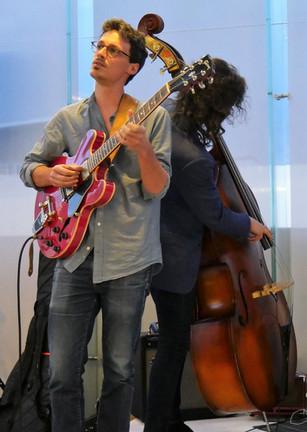 with bassist Philip Ambuel