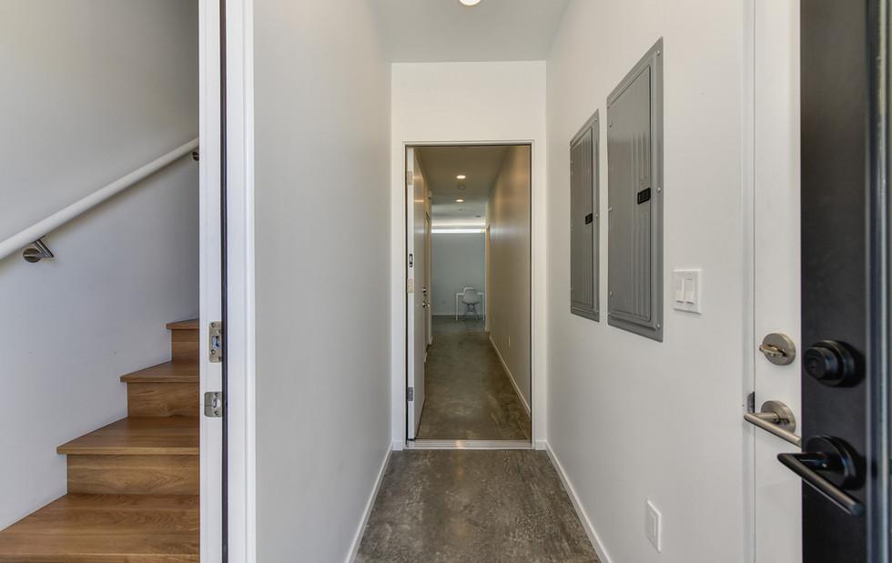 Entry to Ground Floor Studio