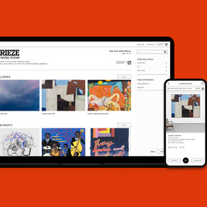 Frieze introduces digital initiative 'Frieze Viewing Room'