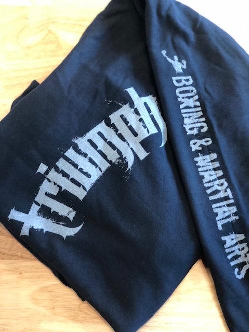 Grey Triumph Logo Hoodie