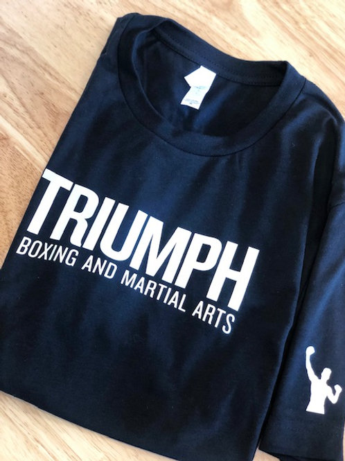 White Triumph Long Sleeve Shirt