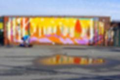 Teviot Mural ArtJohn Art John Poplar East London