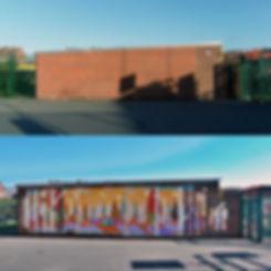 Teviot centre mural ArtJohn