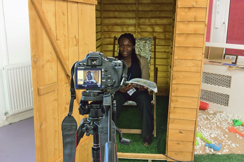 Tales from the shed Artjohn Teacher reading