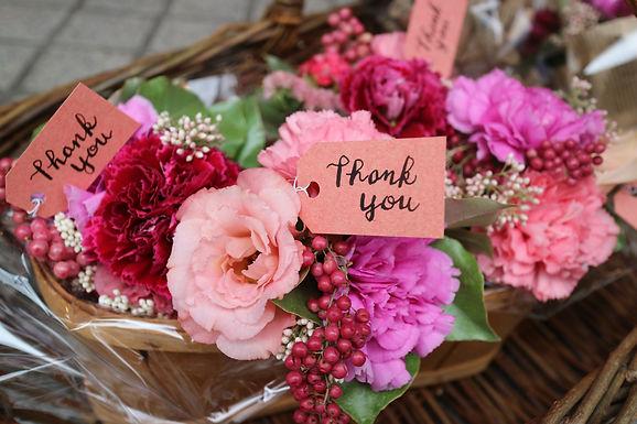母の日ご注文ありがとうございました