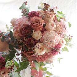 WD Bouquet mauve pink